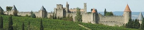 Walled city of Carcassonne, Aude